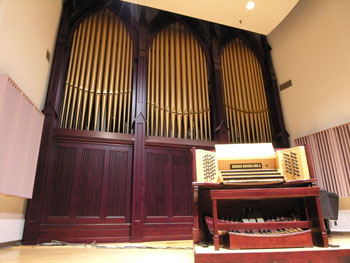 Holsclaw Hall Organ